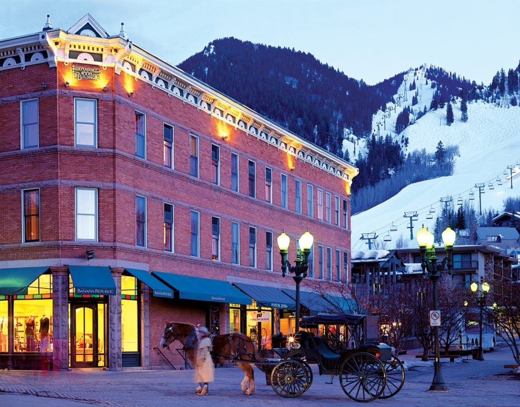 The law firm of Aspen lawyers Alan Feldman and Jeff Wertz is located several blocks from downtown Aspen